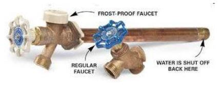 Regular & Frost-Proof Spigot Comparison